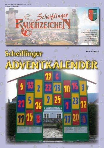 Scheiflinger Rauchzeichen, Ausgabe 27 (0 bytes)