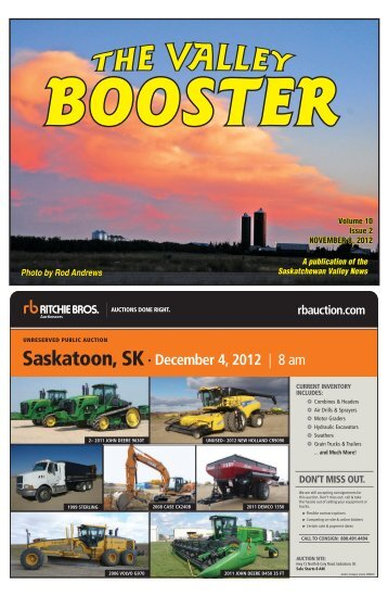 booster - The Saskatchewan Valley News