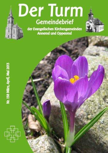 Gemeindebrief - Giessenerland