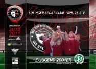E-JUGEND 2001ER - Solinger Sport-Club 95/98 eV