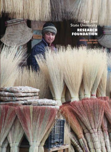 Annual Report - SJSU Research Foundation