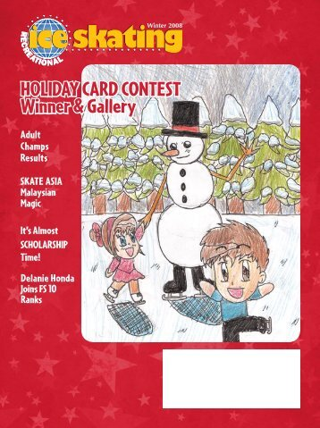 Holiday Card Contest Winner & Gallery - Ice Skating Institute