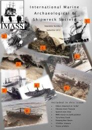 September 2012 - International Shipwreck Conference