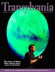 The Face of Mars - Transylvania University