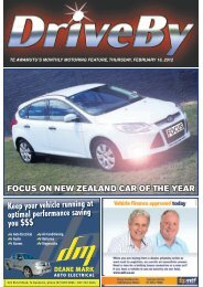 focus on new zealand car of the year - Te Awamutu Online
