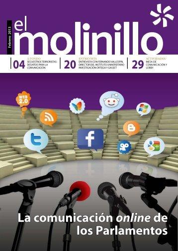 La comunicación online de los Parlamentos
