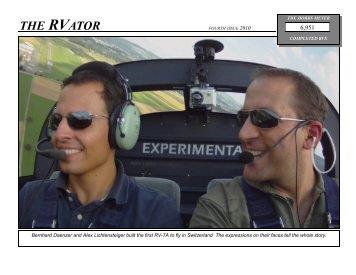RV-Ator - Van's Aircraft, Inc.