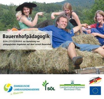 Bauernhofpädagogik - Bildung für nachhaltige Entwicklung ...