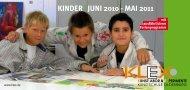 KINDER | JUNI 2010 - MAI 2011 - KLEX Kunstschule Oldenburg
