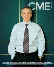 TONY BLAIR SPEAKS OUT p 18 THE GLOBAL ... - CME Group