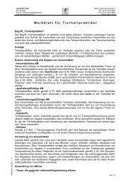 Merkblatt für Tierheilpraktiker - Landkreis Celle