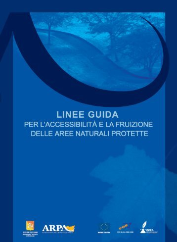 """Volume """"Linee guida per l'accessibilità e la - ARPA Sicilia"""