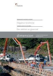 dimension; fichier PDF, 2'184 - Holcim