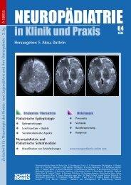 #4668_neuropädiatrie 4-04.indd - Neuropädiatrie in Klinik und Praxis