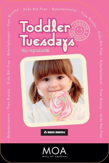 Toddler Tuesdays - Mall of America