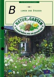 Blumen und Stauden - Natur im Garten