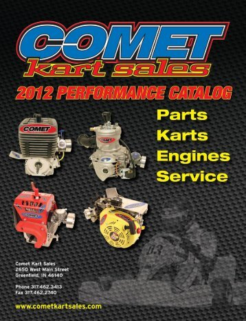 Download PDF Catalog - 30MB - Comet Kart Sales