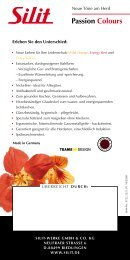 [PDF] Prospekt | Passion Colours - Silit