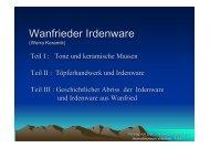 Vortrag von Dipl. –Geologe Peter Fallis - Wanfried