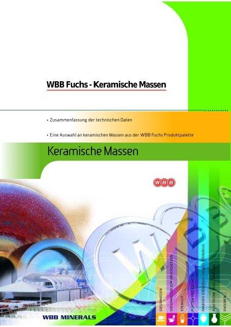 WBB Fuchs-Keramische Massen - WBB Minerals