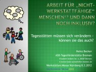 Sozialraumorientierte und arbeitsweltbezogene Teilhabe für ...