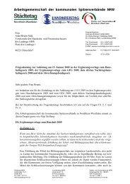 Arbeitsgemeinschaft der kommunalen Spitzenverbände NRW