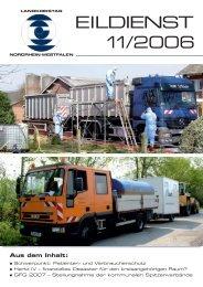 EILDIENST 11/2006 - Landkreistag NRW