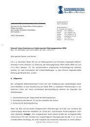 Stellungnahme zum Referentenentwurf zu einem Gesetz