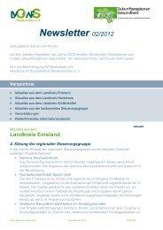 Newsletter 02/2012 - Landkreis Wolfenbüttel