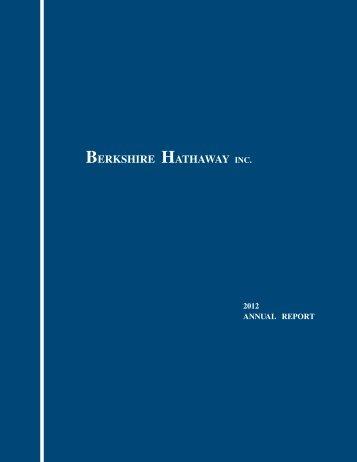 BERKSHIRE HATHAWAY