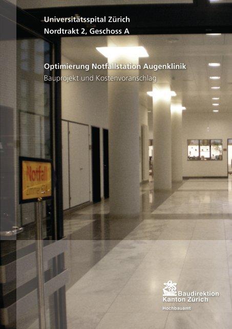 Universitätsspital Zürich Nordtrakt 2, Geschoss A ... - hemmi-fayet