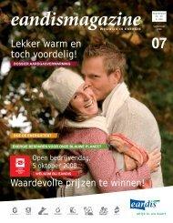 Eandismagazine 07 - September 2008 - 'Lekker warm en toch