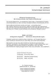 Jentsch Seminar 2013 - Dr. Nüsken Chemie GmbH