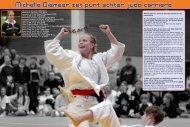 2011 - Michelle Diemeer zet punt achter judo carriere