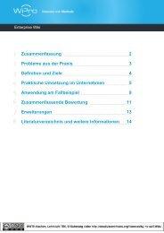 Detaillierte Beschreibung zu Enterprise Wiki - Wipro - Innovation mit ...