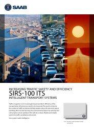 SIRS-100 ITS Product folder (pdf) - Saab