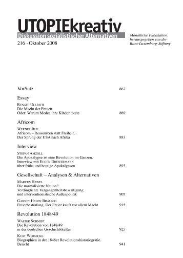 Heft 216 - Rosa-Luxemburg-Stiftung