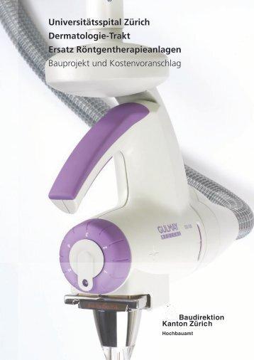Universitätsspital Zürich Dermatologie-Trakt Ersatz - hemmi-fayet