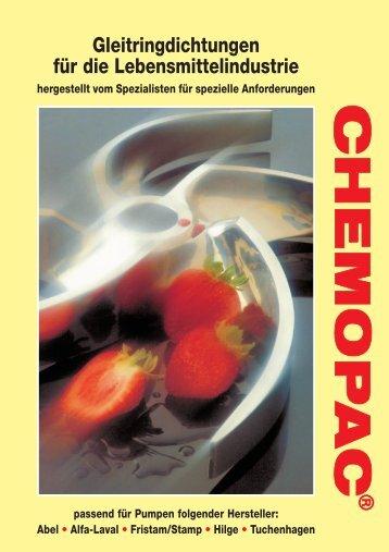 Chemopac GLRD Lebensmittelindustrie