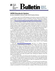 Download a .pdf version of this issue - Human Factors and ...