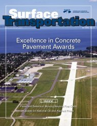Excellence in Concrete Pavement Awards - American Concrete ...