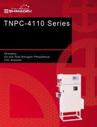 TNPC-4110 Series - Shimadzu Scientific Instruments