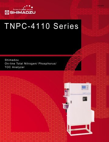 TNPC-4110 Series - Shimadzu Scientific Instruments