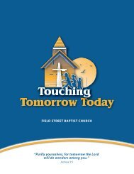 Brochure - Field Street Baptist Church