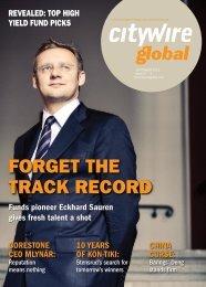 Citywire: Fund Selector – Eckhard Sauren