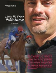 Pablo Suarez - TOC - Thoroughbred Owners of California