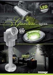 flyer LED garden lights - lightwolf