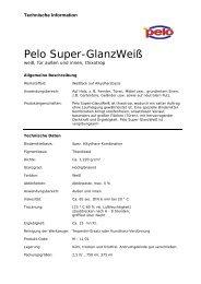 Pelo Super-GlanzWeiß - Farben LOBER