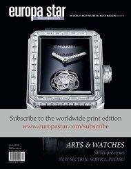 ARTS & WATCHES - Europa Star
