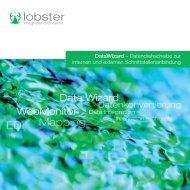 DataWizard – Datendrehscheibe zur internen und ... - Lobster GmbH